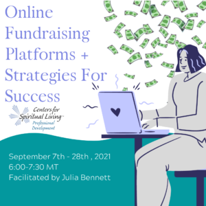 Online Fundraising - CSL Professional Development