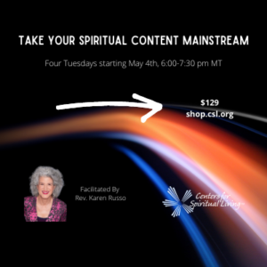Take Your Spiritual Content Mainstream - CSL Professional Development