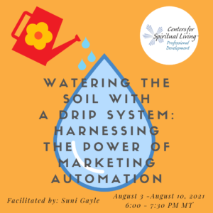 Watering the Soil with a Drip System - CSL Professional Development