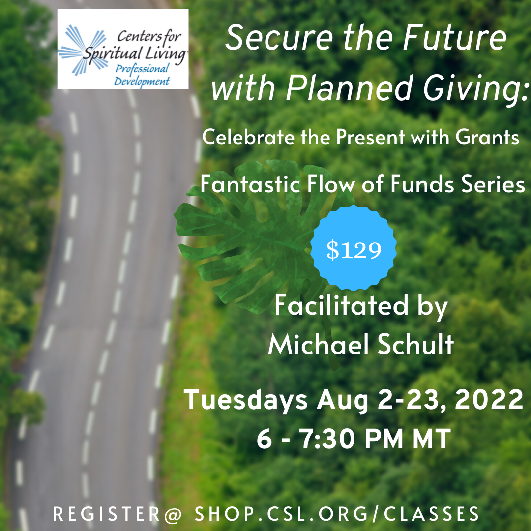 Secure the Future with Planned Giving: August 2022