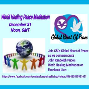 World Healing Peace Meditation